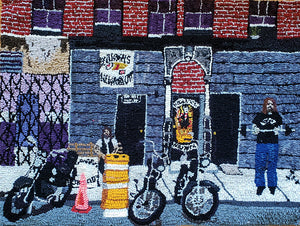 "Mary Tooley Parker ""Hells Angels NYC Headquarters 1980s"""