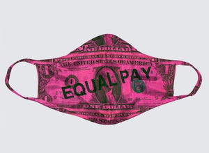 "Michele Pred ""Equal Pay Mask"""