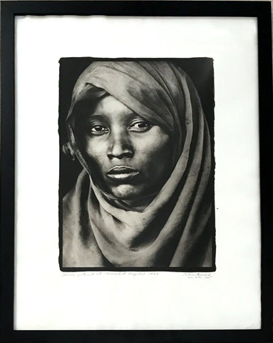 "Peter Beard ""Boran Woman at Marsabit Hospital"""
