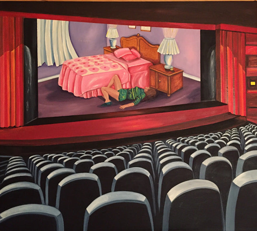 "Robin Tewes ""Movie Theatre #6 I'm Sorry"""