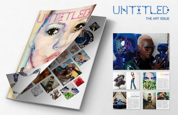 "The Untitled Magazine ""Art"" Issue: Kate Moss + Madonna Double Cover by Artist Fahren Feingold"