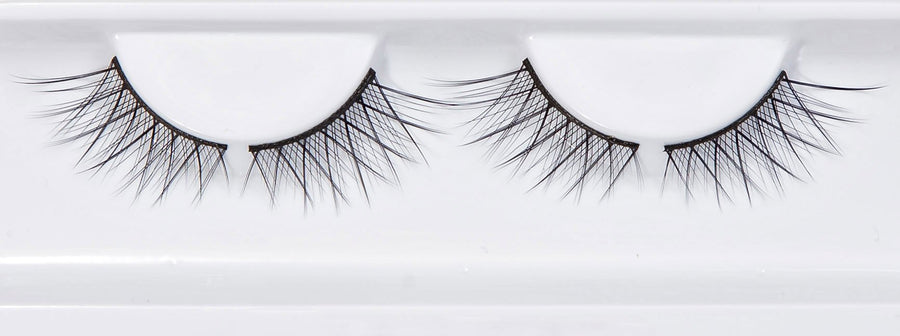 Tipped Half Criss Cross Accent False Eyelashes