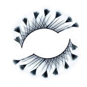 Feather Tipped False Lashes