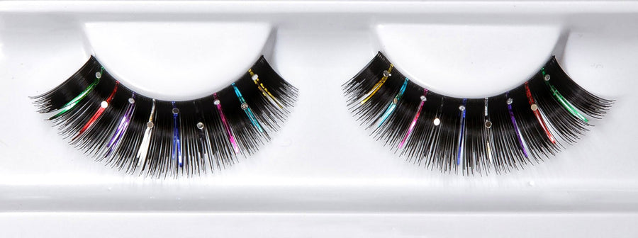 Decorated Colourful Lashes With Beads
