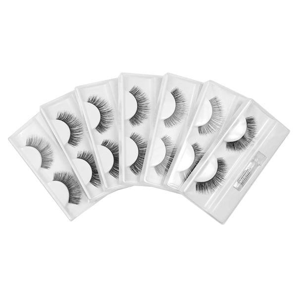 Rimini  False Eyelashes - MULTI PACK -7 PAIRS