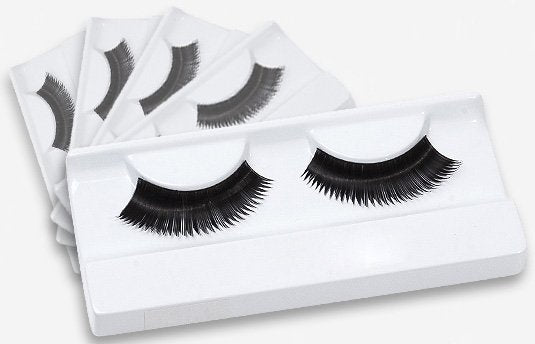 Black thick false eyelashes 5 Pack