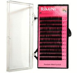 J Curl Synthetic Mink Lashes 12 Rows