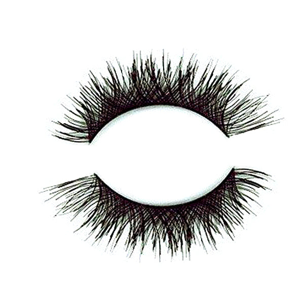 Synthetic Hair Wispy Double layered False Lashes