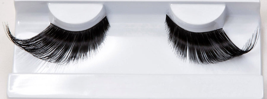 Synthetic Hair Black Winged False Lashes