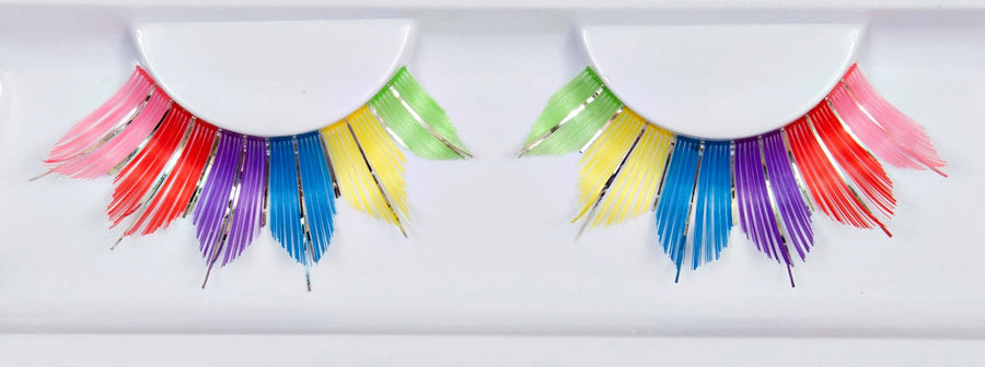 Colourful False Eyelashes