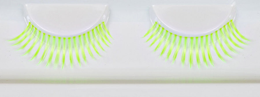 Glow In The Dark Green False Lashes