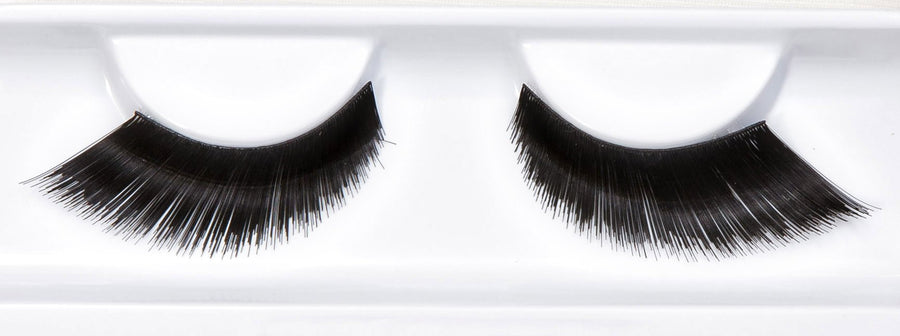Winged  Black False Eyelashes