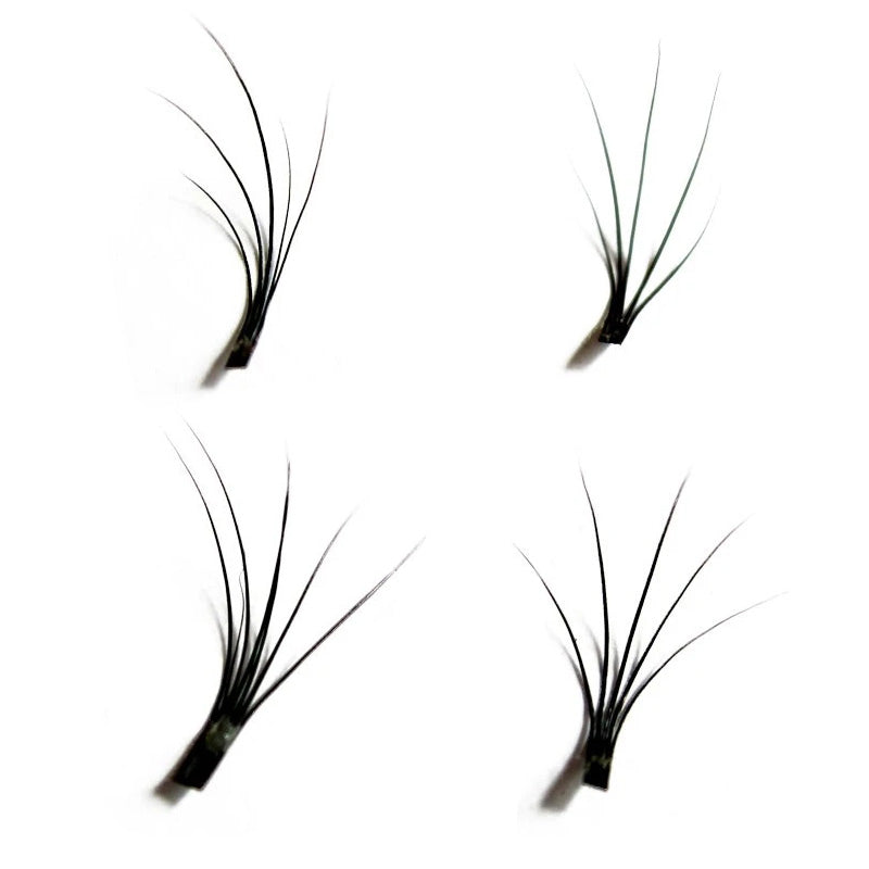 Individual Flare False Eyelashes 10mm Short