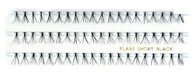 Individual Flare False Eyelashes 8mm