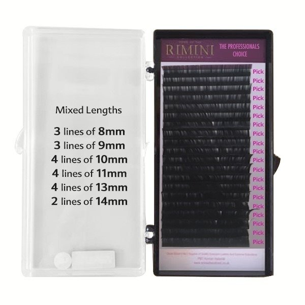 New Automatic Volume Mink Fan Lashes -Mixed Lengths