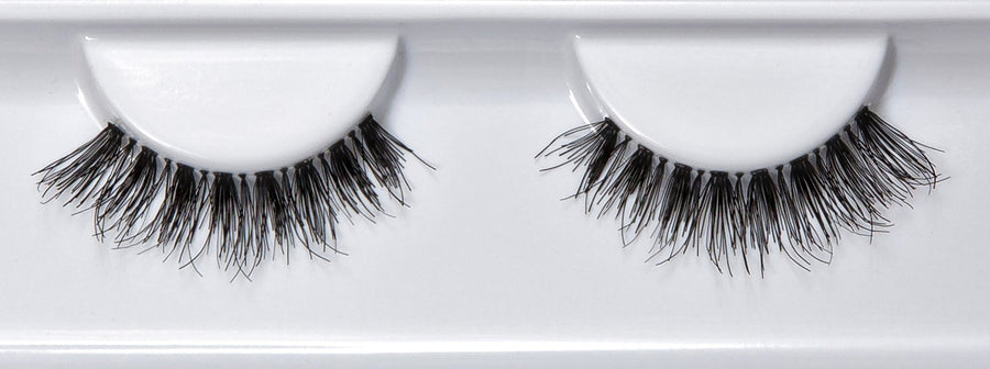 Human Hair Thick Wispy False Lashes