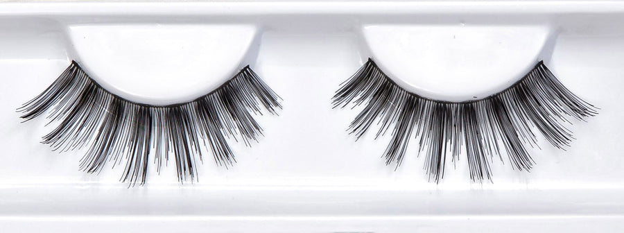 Human Hair Black False Eyelashes