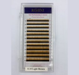 Light Brown 12 Lines  Eyebrow Extension, Eyebow Extensions