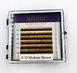 Medium Brown 6 Lines Eyebrow Extension, Eyebrow Extensions