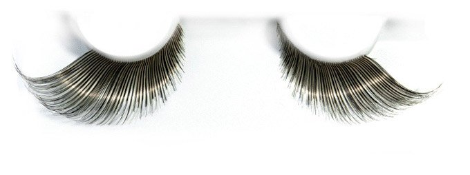 Synthetic Hair Black False Lashes
