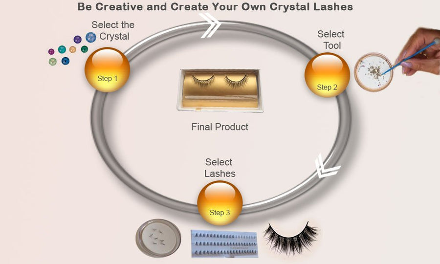 Create Your Crystal Lashess