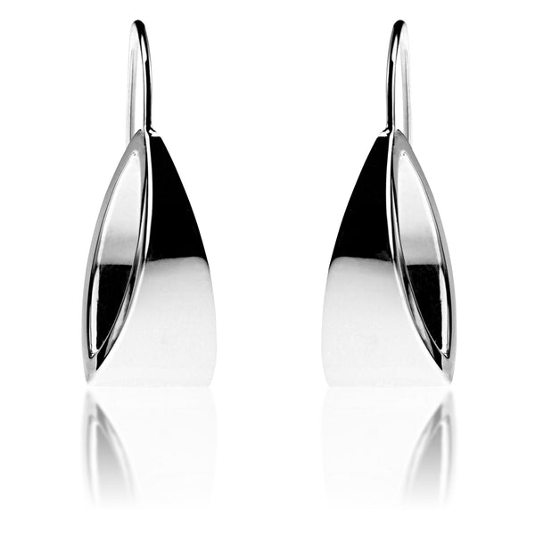 Dichotomy Large Shiny Earrings