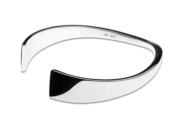Dichotomy Shiny Bangle