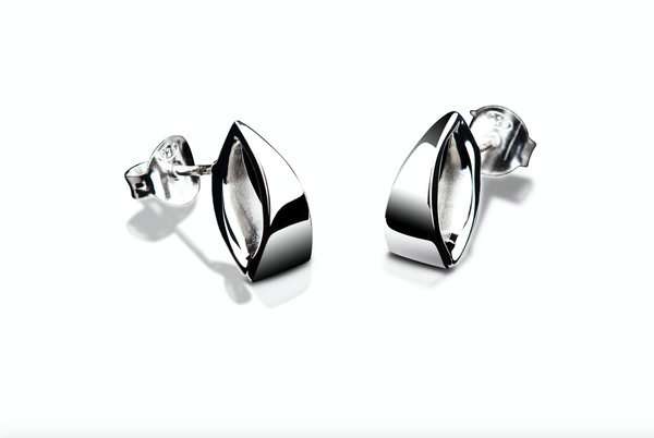 Dichotomy earrings shiny s