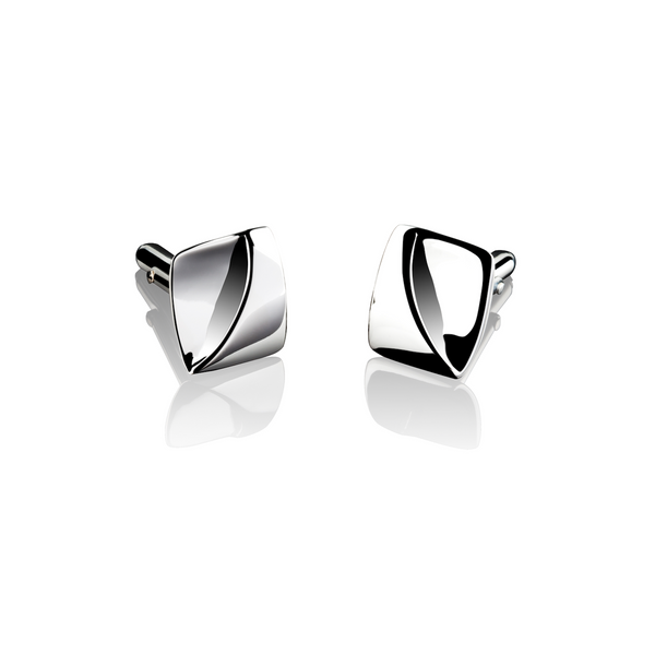 Shadow Line Shiny Cufflinks