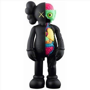 Kaws Companion Open Edition (Flayed) Black (2016)