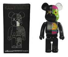 Load image into Gallery viewer, Kaws Dissected Bearbrick 1000% Black