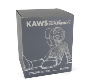 Kaws Resting Place Companion Grey