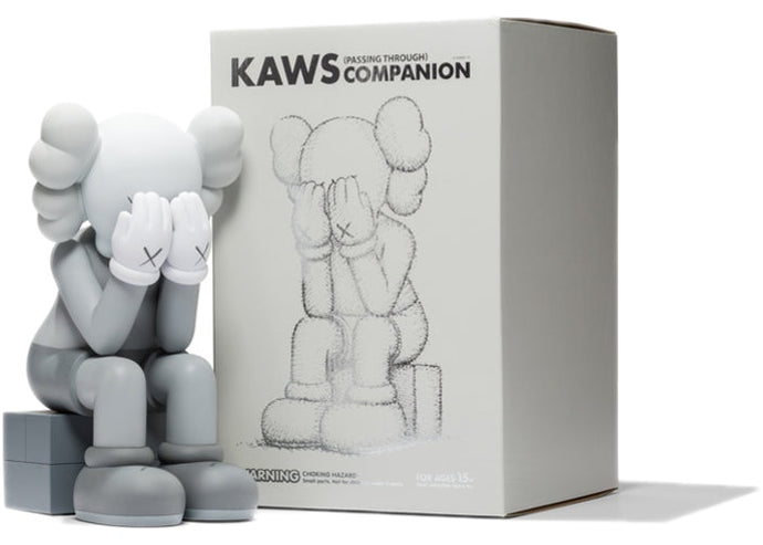 Kaws (Passing Through) Open Edition Grey (2018)