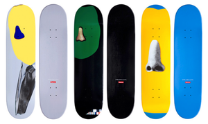 John Baldessari, Supreme Skateboard Decks