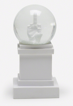 Load image into Gallery viewer, Maurizio Cattelan L.O.V.E. Snow Globe