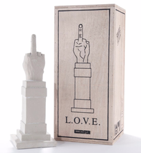 Load image into Gallery viewer, Maurizio Cattelan L.O.V.E. Concrete Sculpture