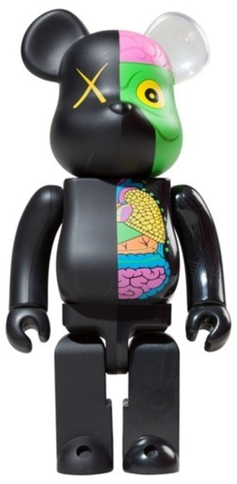 Kaws Dissected Bearbrick 1000% Black