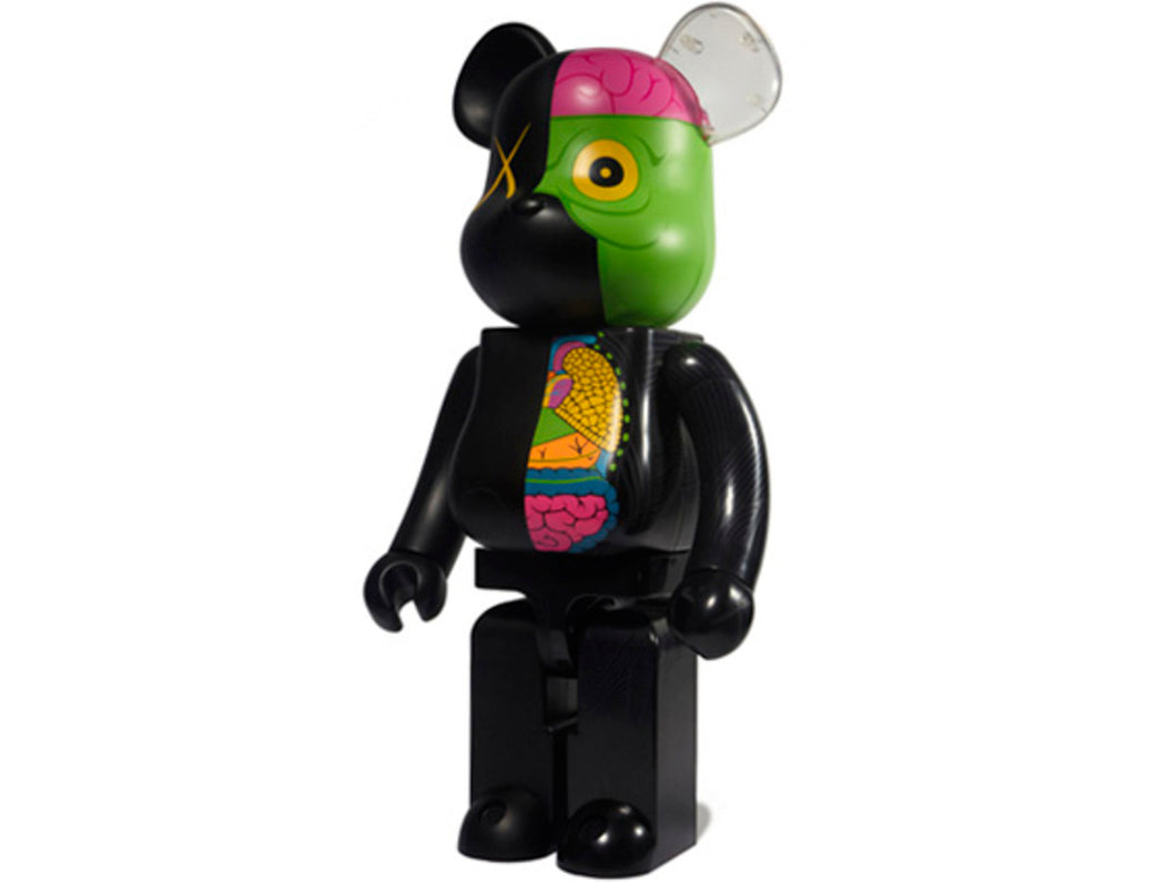 Kaws Dissected Companion 100% Black