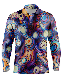 Arcade | Mens Long Sleeve S Golf Shirts