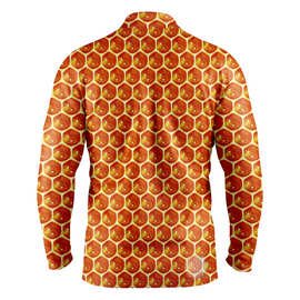 Beehive | Mens Long Sleeve Golf Shirts