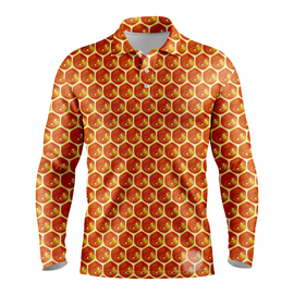 Beehive | Mens Long Sleeve S Golf Shirts