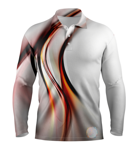 Comet | Mens Long Sleeve S Golf Shirts