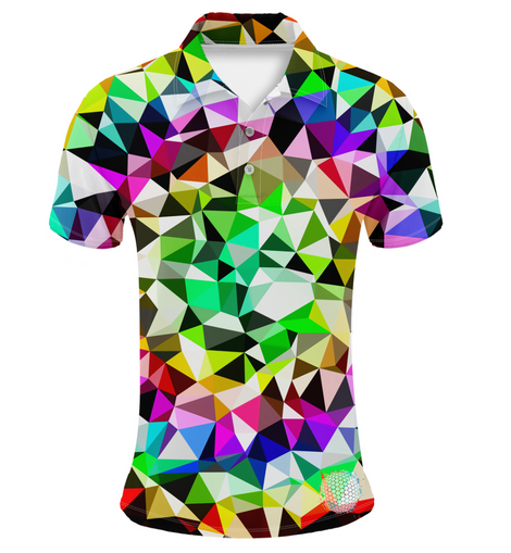 Dazzle | Couples Mens Small Short Sleeve / Womens Golf Shirts
