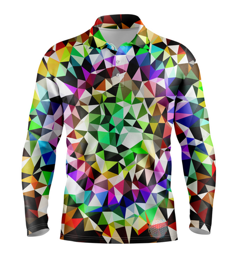 Dazzle | Mens Long Sleeve S Golf Shirts