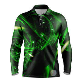 Emerald | Mens Long Sleeve S Golf Shirts