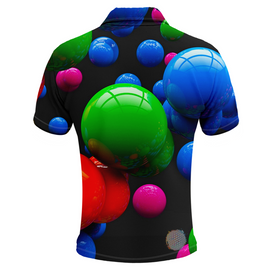 Gumballs Mens Golf Shirts