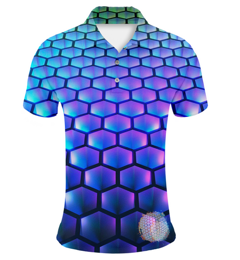 Hex Tech | Couples Mens Small Short Sleeve / Womens Golf Shirts