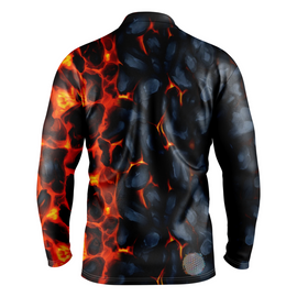 Magma | Mens Long Sleeve Golf Shirts