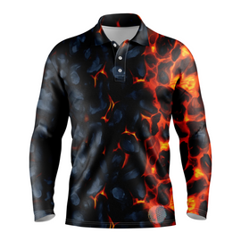 Magma | Mens Long Sleeve S Golf Shirts