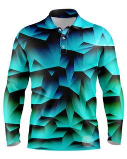 Pacific | Mens Long Sleeve S Golf Shirts